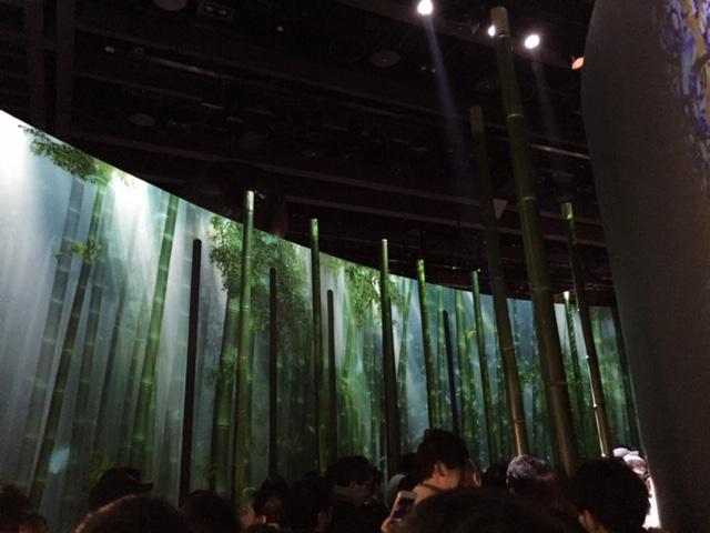 竹林の風音